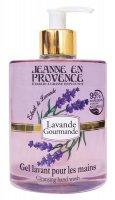 Jeanne en Provence Mycí gel na ruce Levandule 500 ml