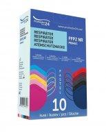 Promedor24 Respirátor FFP2 NR Primus Pastel 10 ks