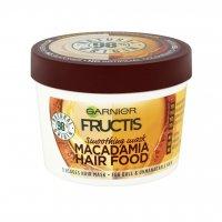 Garnier Fructis Macadamia Hair Food uhlazující maska 390 ml