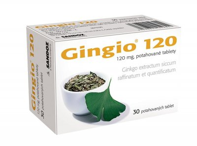 Gingio 120 mg 30 tablet
