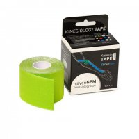 GM rayon kinesiology tape hedvábný 5cm x 5m limetka