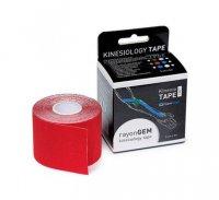 GM rayon kinesiology tape hedvábný 5cm x 5m red