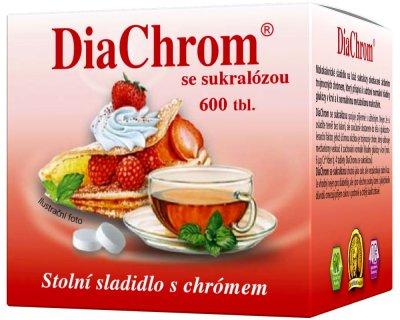 Diachrom se sukralózou nízkokalorické sladidlo 600 tablet