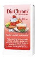 DiaChrom se sukralózou nízkokalorické sladidlo 80 tablet