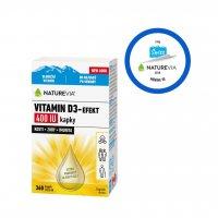 Swiss NatureVia Vitamin D3-Efekt 400 IU kapky 10,8 ml