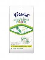 Kleenex Hygienic Mask Kids 4+ ochranná obličejová maska pro děti 5 ks