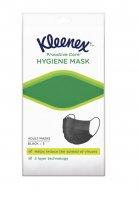 Kleenex Hygiene mask Adult ochranná obličejová maska 5 ks černá