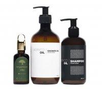 Agrico Oil Koupelový set s arganovým olejem 3 ks