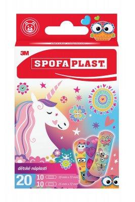 3M Spofaplast 119 Dětské náplasti dívčí motiv 20 ks