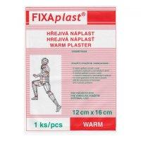 Fixaplast Warm Kapsaicinová hřejivá náplast 12x16 cm
