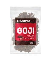 Allnature Goji v hořké čokoládě 100 g