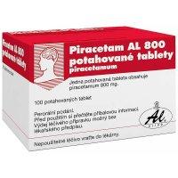 Piracetam AL 800 mg 100 potahovaných tablet