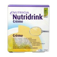 Nutridrink Creme vanilka 4x125 ml