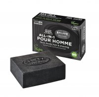 Balade en Provence Tuhé all-in-one mýdlo pro muže BIO Citrus 80 g