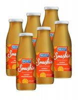 SALVEST Smushie BIO Ovocné smoothie s mangem, ananasem a pomerančovou dužinou 6x240 ml