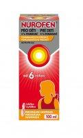 Nurofen pro děti 4 % pomeranč suspenze 100 ml