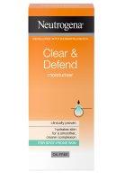 Neutrogena Clear & Defend Hydratační krém 50 ml