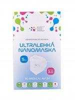 SAFETY NANO PROTECT 3D Medical Mask GEN 3.0 vel. UNI 5 ks