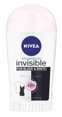 NIVEA Tuhý AP Black&White Clear 40ml