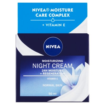 Nivea Regenerační noční krém pro normální až smíšenou pleť 50 ml