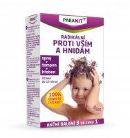 Paranit sprej 100 ml + hřeben + šampon 100 ml dárková sada
