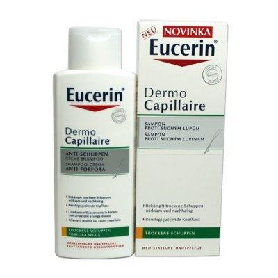 Eucerin Dermocapillaire Gelový šampon proti suchým lupům 250 ml