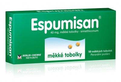 Espumisan 40 mg 50 měkkých tobolek