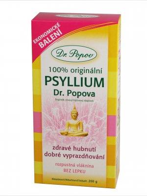 Dr. Popov Psyllium indická rozpustná vláknina 200 g