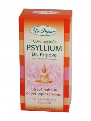 Dr. Popov Psyllium indická rozpustná vláknina 50 g