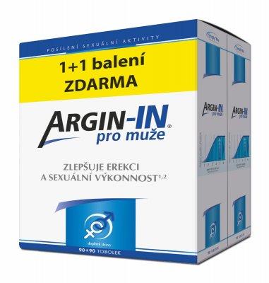 Argin-IN pro muže 2x90 tobolek 1+1 zdarma