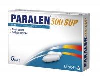 Paralen 500 mg 5 čípků