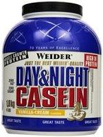 WEIDER Day&Night Casein vanilla-cream 1,8 kg