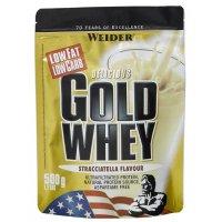WEIDER Gold Whey strawberry sáček 500 g