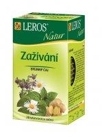 Leros Natur Zažívání porcovaný čaj 20x1,5 g