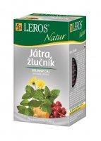 Leros Natur Játra žlučník porcovaný čaj 20x1,5 g