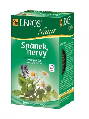 Leros Natur Spánek nervy porcovaný čaj 20x1,3 g