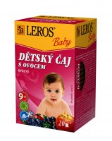 Leros Dětský čaj s ovocem 20x2 g