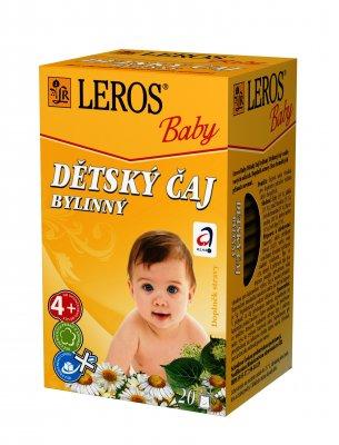 Leros Dětský čaj bylinný 20x1,8 g