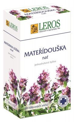 Leros Mateřídouška porcovaný čaj 20x1,5 g