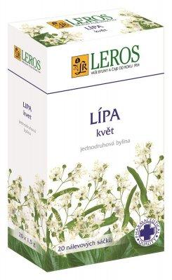 Leros Lípa květ porcovaný čaj 20x1,5 g