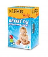 Leros Baby Dýchací cesty s lípou dětský čaj 20x2 g