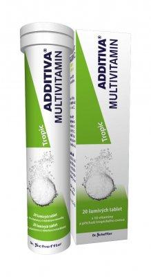 Additiva Multivitamin tropic 20 šumivých tablet