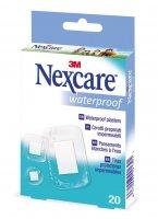 3M Nexcare Voděodolné náplasti různé velikosti 20ks
