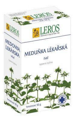 Leros Meduňka lékařská nať 50 g