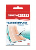 3M Spofaplast Textilní elastická náplast 6 cm x 1 m 1 ks