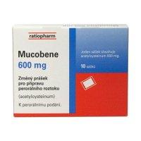 Mucobene 600 mg 10 sáčků