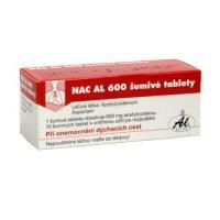 Nac AL 600 mg 10 šumivých tablet