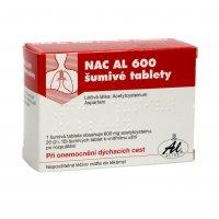 Nac AL 600 mg 20 šumivých tablet