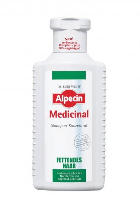 Alpecin Medicinal na mastné vlasy šampon 200 ml