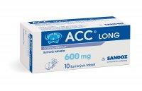 ACC LONG 600 mg 10 šumivých tablet